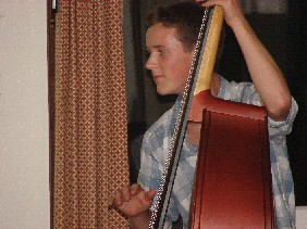 Trent on Doublebass